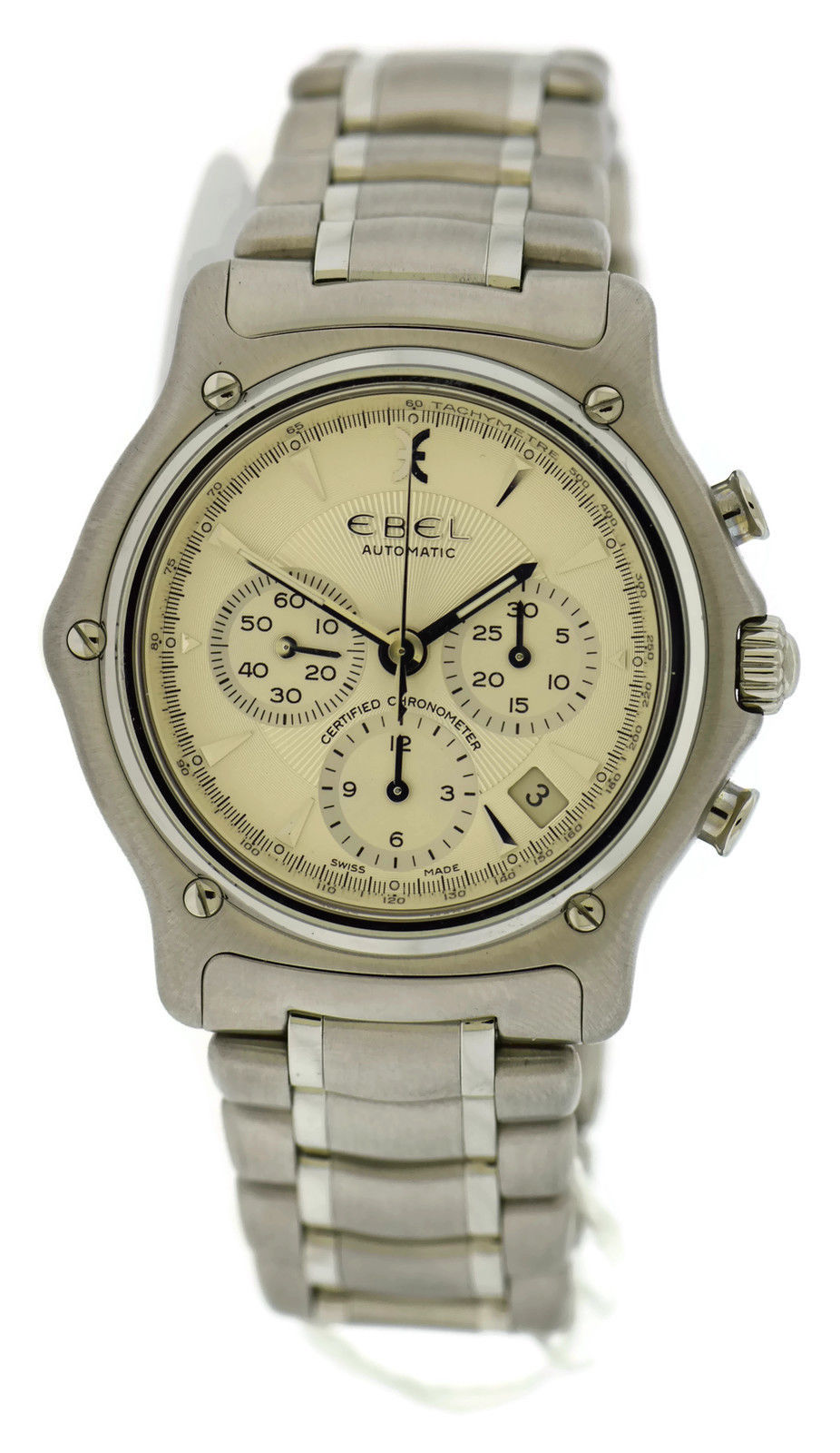 """Image of """"Ebel 1911 9137L40 Stainless Steel Automatic 40mm Mens Watch"""""""
