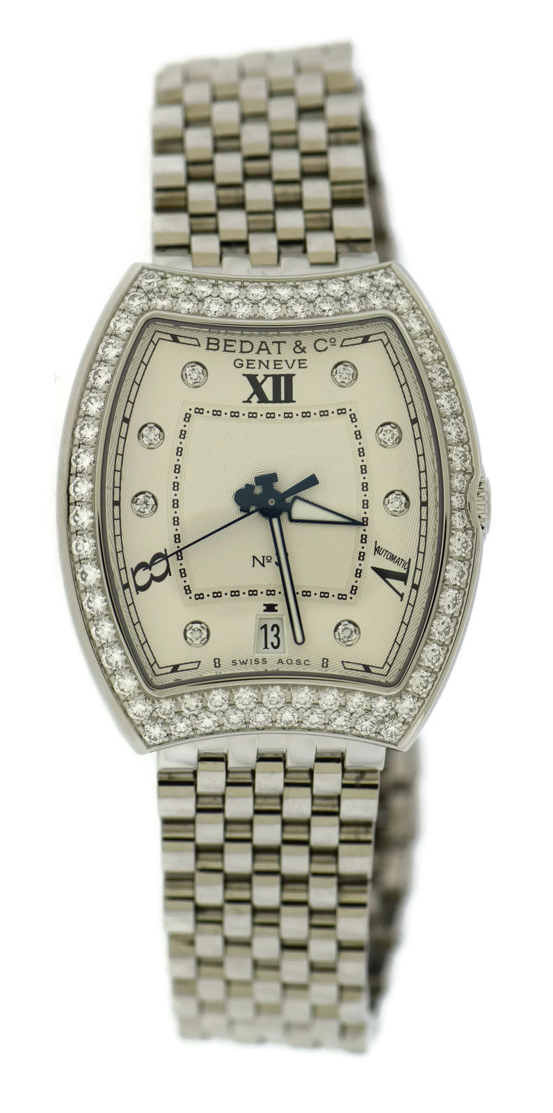 """Image of """"Bedat & Co. No 3 315.071.109 Stainless Steel wDiamonds Automatic 33mm"""""""