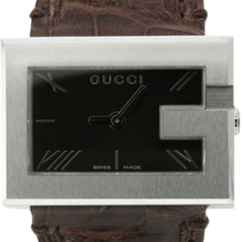 "Image of ""Gucci 100L Ya100501 Stainless Steel Quartz 30mm Womens Watch"""