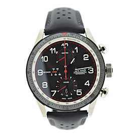 Oris Artix GT Chronograph 7661 Stainless Steel & Leather Automatic 44mm Mens Watch
