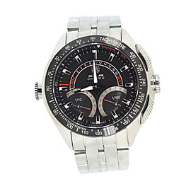 Tag Heuer Mercedes Benz SLR Cal S CAG7010 Stainless Steel Quartz 46mm Mens Watch