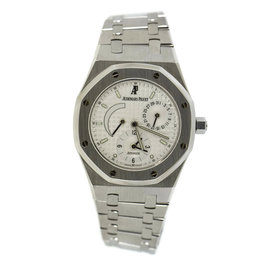 Audemars Piguet Royal Oak 25730ST Stainless Steel White Dial Automatic 36mm Mens Watch