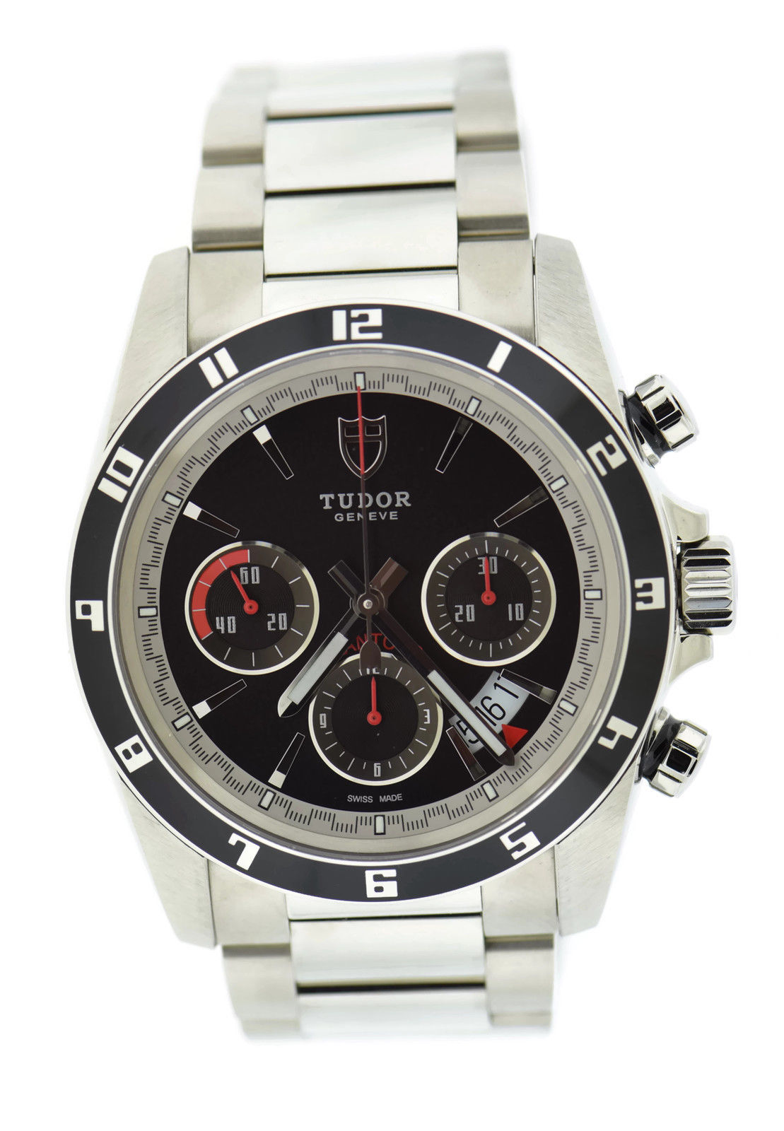 """Image of """"Tudor Grantour 20530N Stainless Steel Black Dial Automatic 42mm Mens"""""""