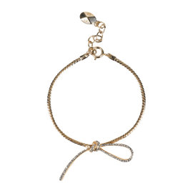 Christian Dior Gold Tone Hardware Metal with Crystals
