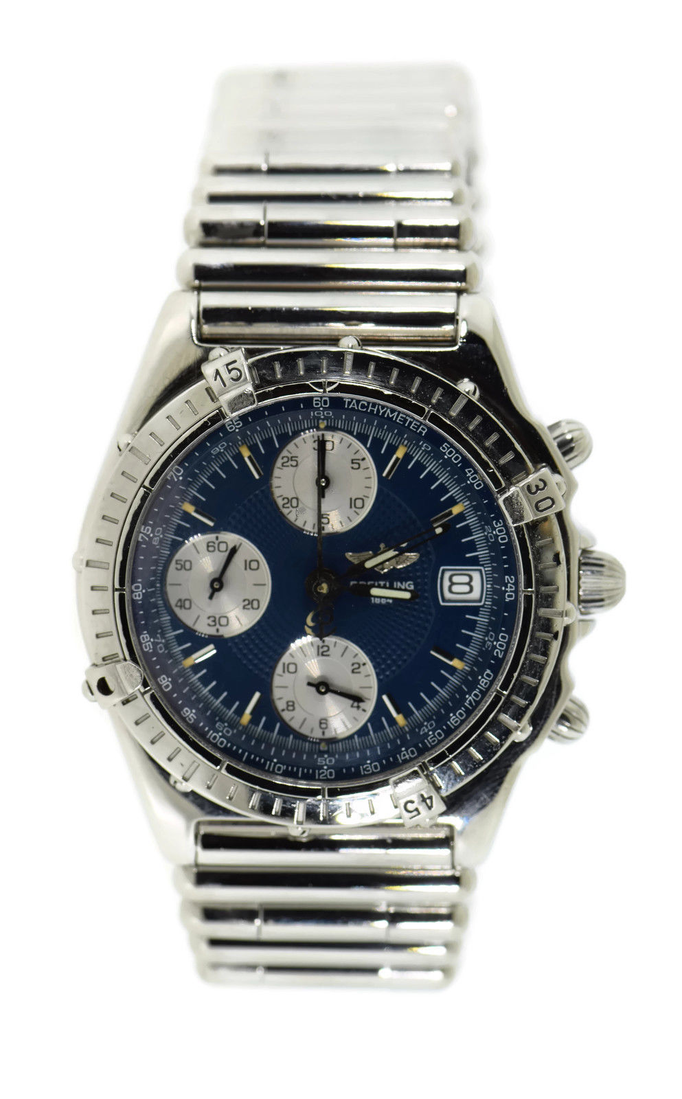 "Image of ""Breitling Chronomat A13050.1 Stainless Steel Blue Dial Automatic 40mm"""