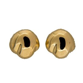 Tiffany & Co. Peretti 18K Yellow Gold Domed Earrings