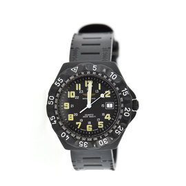 Breitling Colt M5003632B PVD Coated Stainless Steel & Rubber Military Black Dial Quartz 39mm Mens Watch