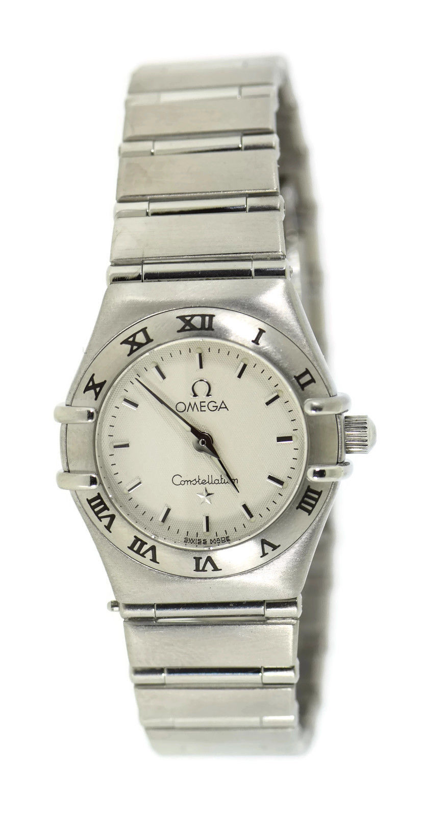 """Image of """"Omega Constellation Mini Stainless Steel 23mm Womens Watch"""""""