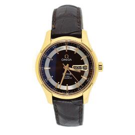 Omega DeVille Hour Vision 431.63.41.22.13.001 18K Rose Gold 41mm Mens Watch