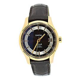 Omega DeVille Hour Vision 431.63.41.21.13.001 18K Rose Gold 41mm Mens Watch