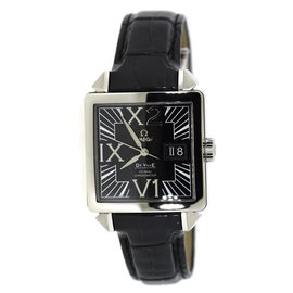 Omega DeVille Big Date X2 7813.50.31 Stainless Steel 35mm Mens Watch