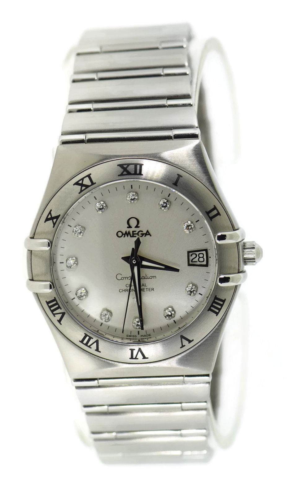 "Image of ""Omega Constellation 111.10.36.20.52.001 Diamond Stainless Steel 35mm"""