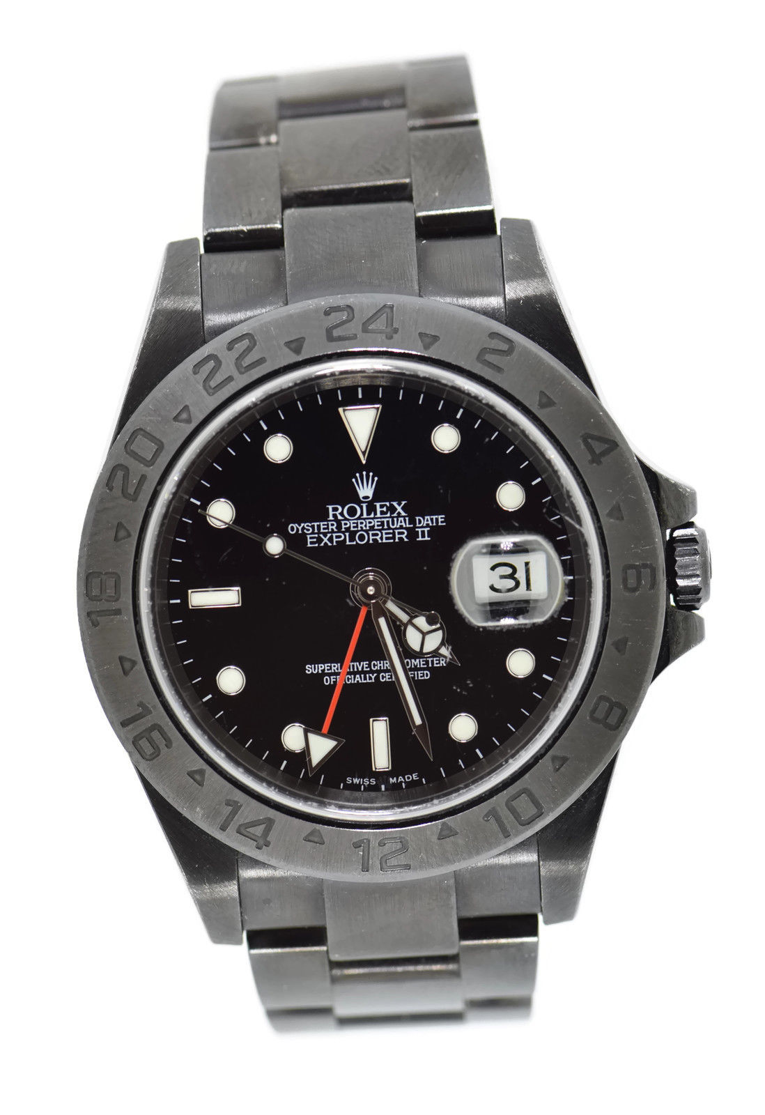 """Image of """"Rolex Explorer II 16570 Black PVD Coated Stainless Steel Automatic"""""""