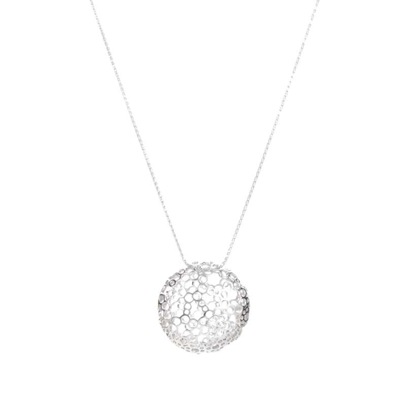 "Image of ""Hearts of Fire 18K White Gold Diamond Pendant Necklace"""