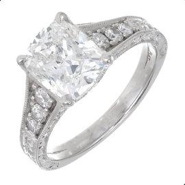 Platinum Diamond Ring Size 7
