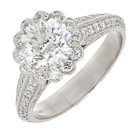 Platinum PSD 2.55ct Diamond Ring Size 7