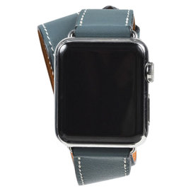 Hermes Double Tour Apple Stainless Steel and Ceramic 38mm Womens Watch
