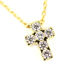 Van Cleef & Arpels 18K Yellow Gold with Diamond Necklace