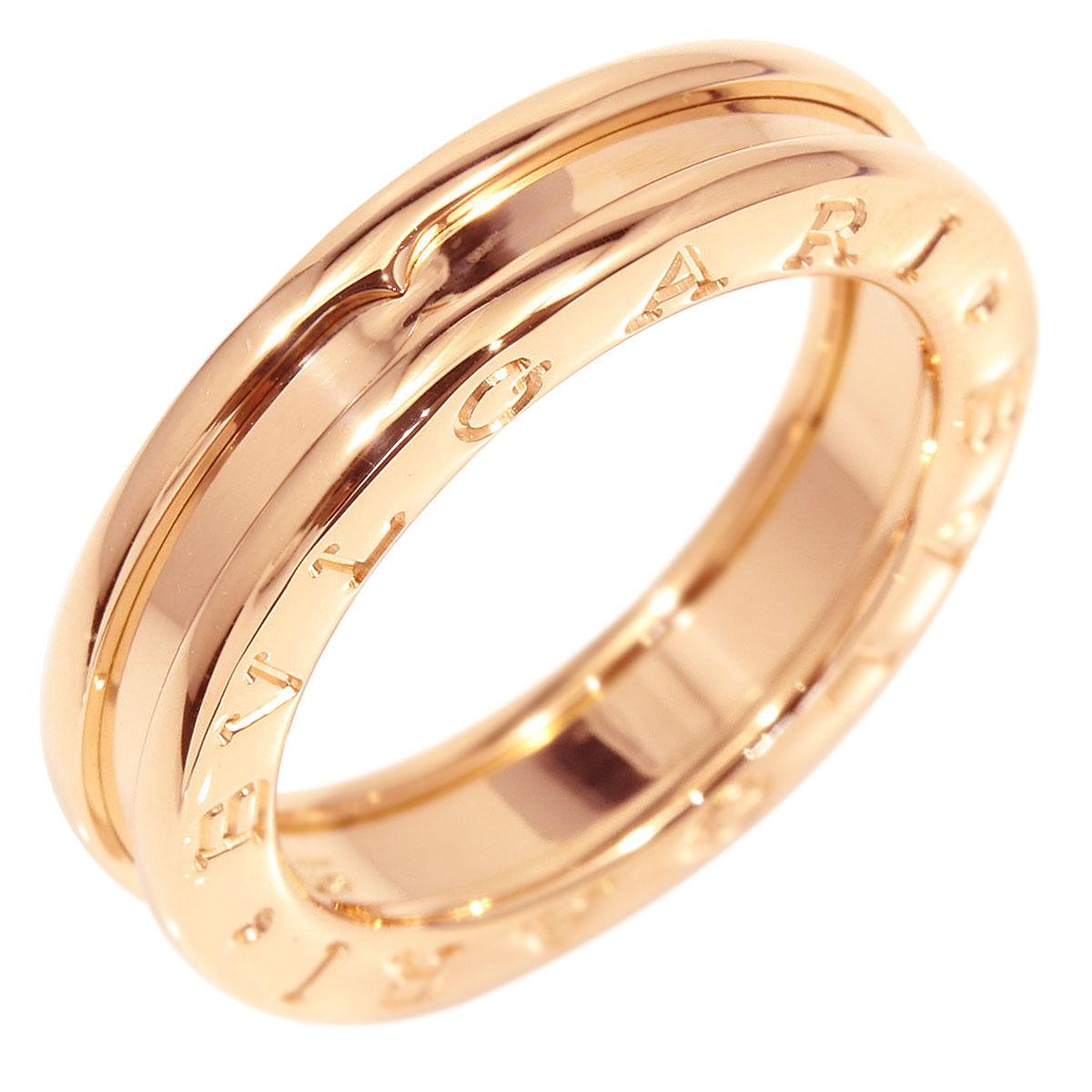 "Image of ""Bulgari 18K Rose Gold B-Zero 1 Band Ring Size 6"""