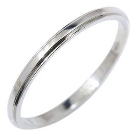 Cartier 950 Platinum D'amour Wedding Band Ring Size 8