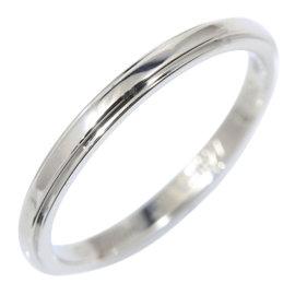 Cartier Pt950 Platinum D'amour Band Ring Size 4.0