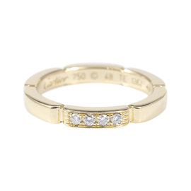 Cartier 18K Rose Gold with Diamond Maillon Panthere Ring Size 4.5