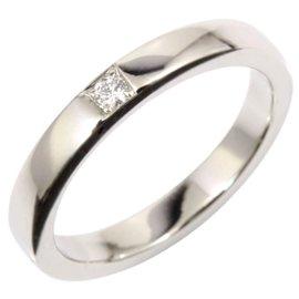 Bulgari 950 Platinum Diamond Ring Size 5.25
