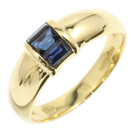 Tiffany & Co. 18K Yellow Gold & Sapphire Ring Size 5