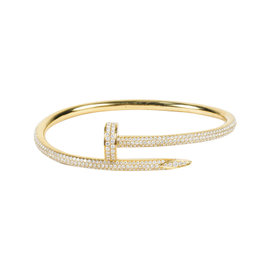 Cartier 18K Yellow Gold and Diamond