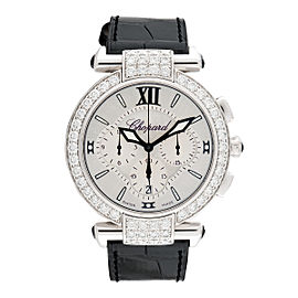 Chopard Imperiale 18K White Gold 40mm Womens Watch