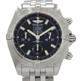 Breitling Blackbird Chrono A44359 Stainless Steel Automatic 44mm Mens Watch