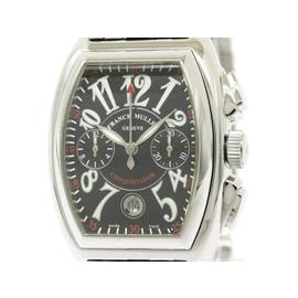 Franck Muller Conquistador 8001CC Chronograph Stainless Steel Automatic 35mm Mens Watch