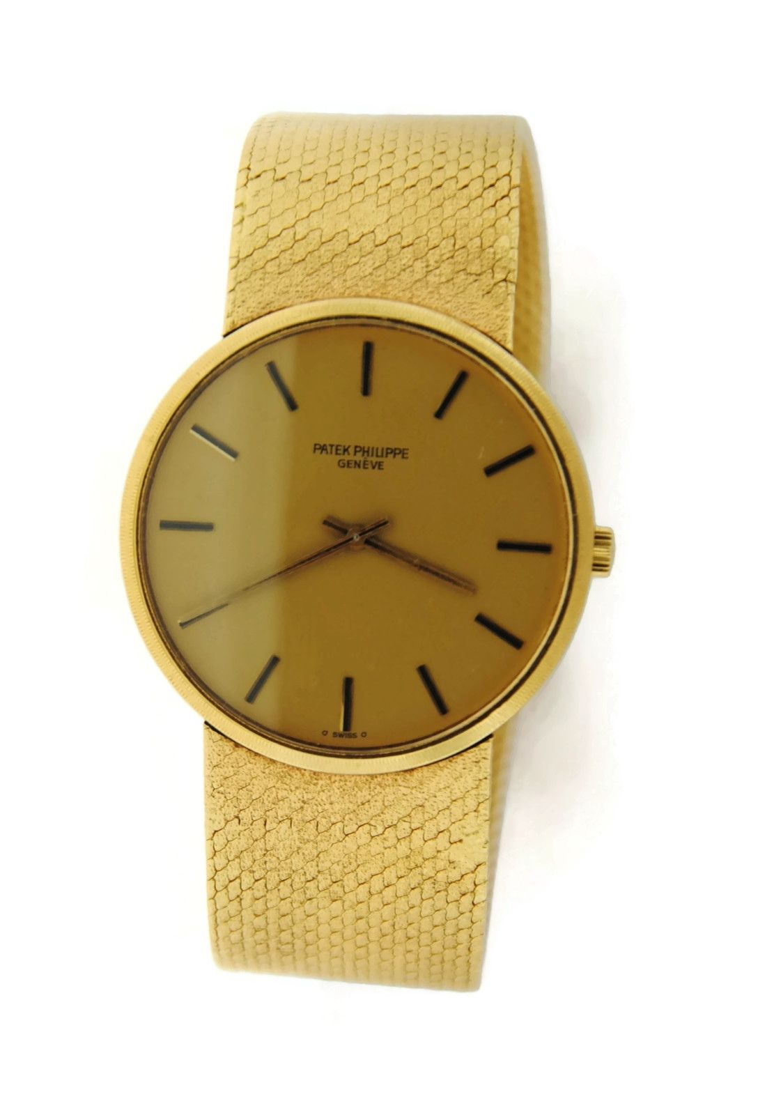 Patek Philippe Calatrava 18K Yellow Gold Watch
