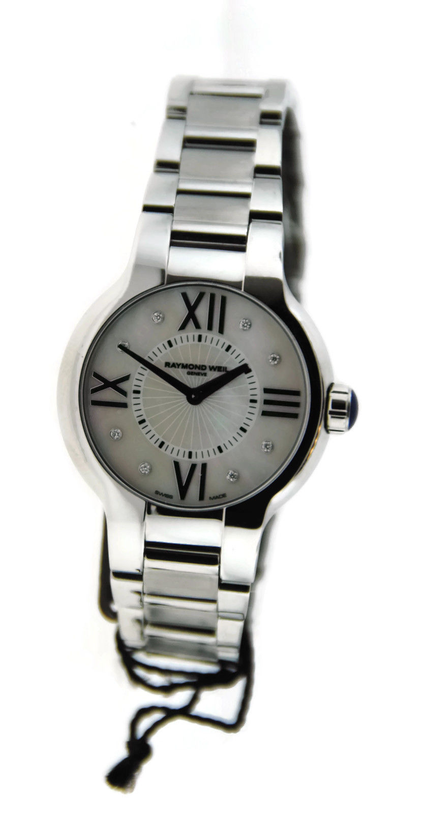 "Image of ""Raymond Weil 5932 Noemia Diamond Stainless Steel Watch"""