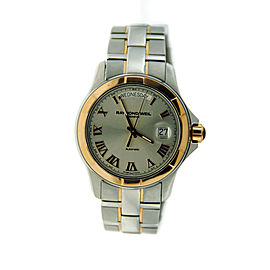 Raymond Weil Parsifal Day Date Rose Gold Steel Automatic Mens Watch