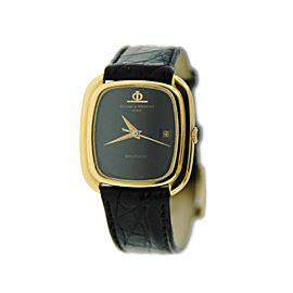 Baume & Mercier Baumatic 18K Yellow Gold Womens Watch