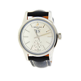 Breitling Transocean A1631012 Automatic Stainless Steel 38mm Watch