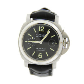 Panerai PAM299 Luminor Marina Automatic Stainless Steel Watch