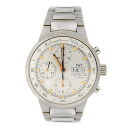 IWC 3707 GST Chronograph Automatic Stainless Steel Mens Watch
