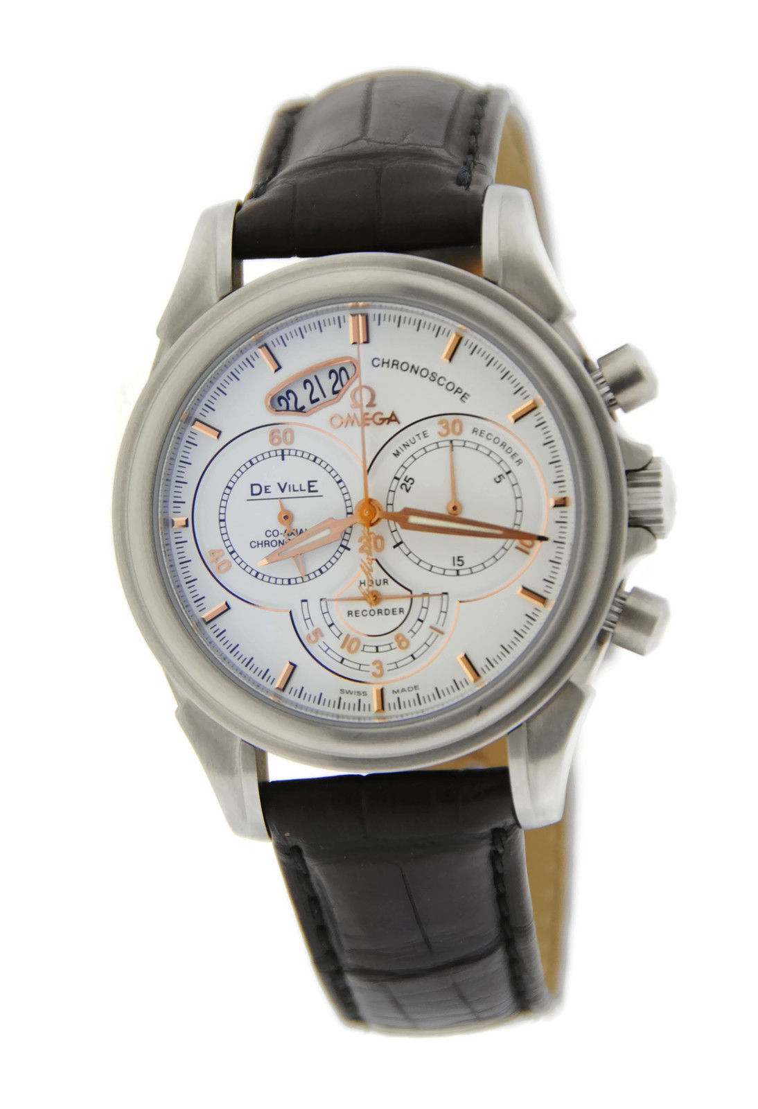 "Image of ""Omega 422.13.41.50.04.002 DeVille Chronoscope Co-Axial Stainless Steel"""