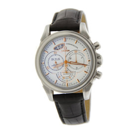 Omega 422.13.41.50.04.002 DeVille Chronoscope Co-Axial Stainless Steel Mens Watch