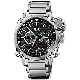Oris BC4 Flight Timer 690-7615-4154MB Chronograph Stainless Steel Watch