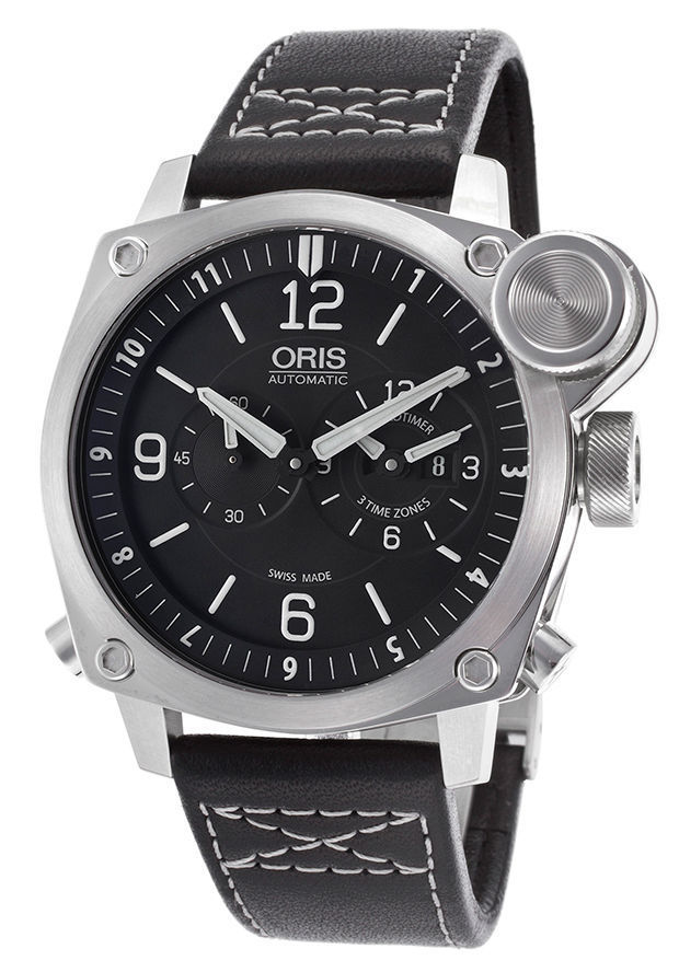 """Image of """"Oris BC4 Flight Timer 690-7615-4164Ls Chronograph Stainless Steel"""""""