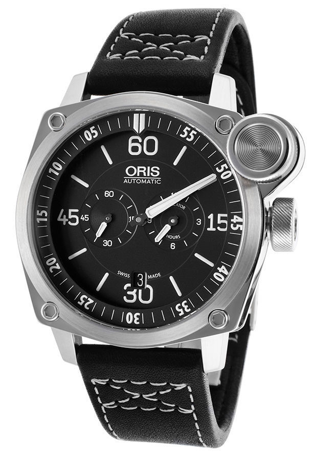 """Image of """"Oris BC4 Flight Timer Chronograph 749-7632-4194-Ls Stainless Steel"""""""