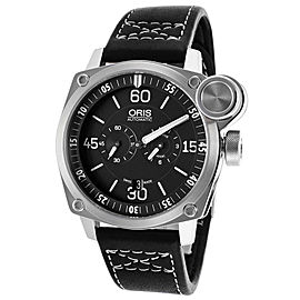 Oris BC4 Flight Timer Chronograph 749-7632-4194-LS Stainless Steel Mens Watch