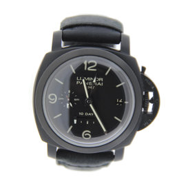 Panerai PAM270 Luminor GMT 1950 10 Day DLC Stainless Steel Watch