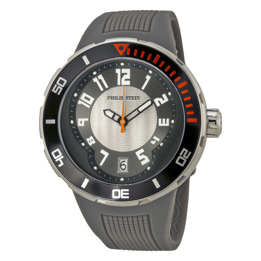 "Image of ""Philip Stein Extreme 34-Bgr-Rgr Stainless Steel Quartz 46mm Mens Watch"""