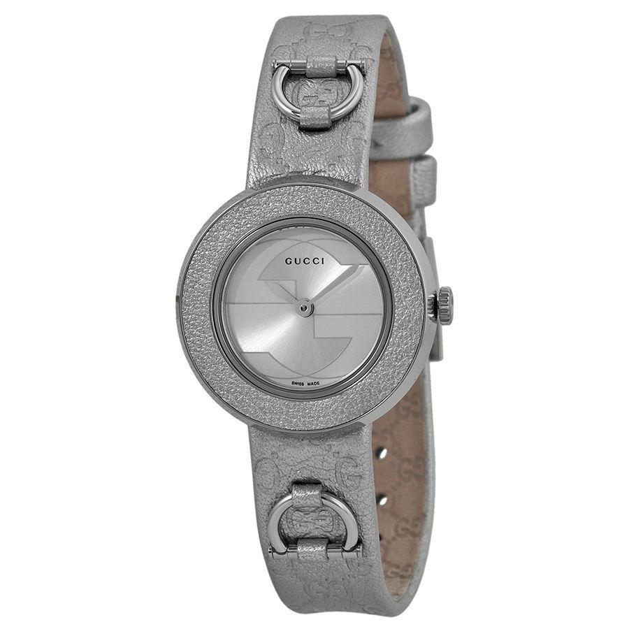 "Image of ""Gucci Ya129507 U-Play Stainless Steel Womens Watch"""