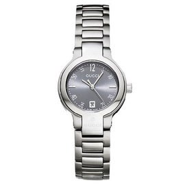 Gucci YA089505 Gray Dial Stainless Steel Womens Watch