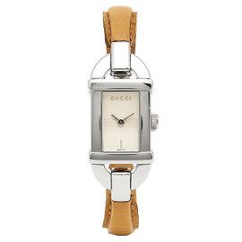 Gucci Petite YA068524 Bangle Stainless Steel Watch